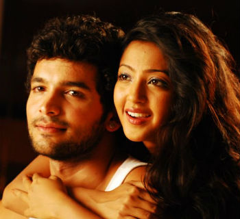 Aindrita ray with Diganth