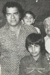 Akshay kumar childhood photo
