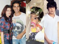 Akshay kumar family: wife twinkle khanna,son aarava and daughter nitara