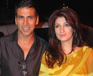 Akshay kumar with wife twinkle khanna