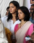 Amala with anushka shetty