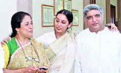 Arundathi nag with javed akhtar and shabana azmi