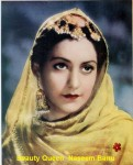 Beauty queen and first female superstar of indian cinema in her young age.