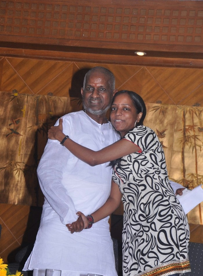 Bhavatharini With Her Father