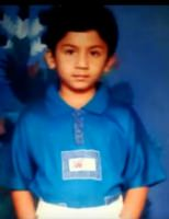Bhuvan ponnanna childhood photo