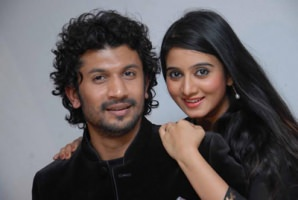 Bhuvan ponnanna with harshika poonacha