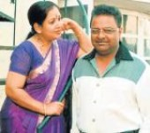 D rajendra babu with wife sumithra