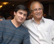 Dr suresh sharma with his son Dhruv sharma