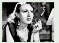 Fearless nadia smoking in hunterwali (1935) movie.