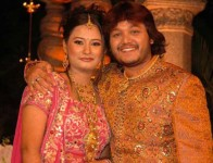 Ganesh with wife shilpa