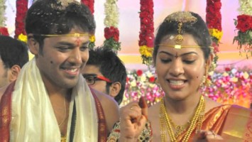 Geetha madhuri wedding with actor nandu