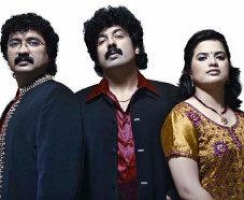 Gurukiran with nanditha and praveen d rao