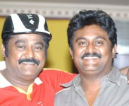 Jaggesh with brother komal
