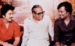 K balachandar with kamal hassan and rajinikanth