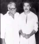 Kamal hassan visits k balachandar to wish him get well soon