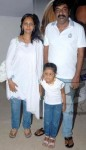 Kannada director yogaraj bhat family wife renuka bhat and daughter Punarvasu bhat.