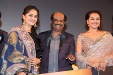 Lingaa audio launch function. which was held at Sathyam in Chennai and was released on 16 november 2014.