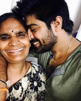 Lv revanth with his mother