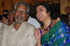 Mani ratnam and his wife suhasini