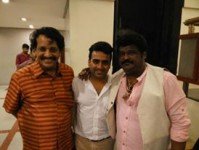 Master anand with jaggesh and t n sitharam