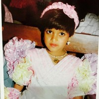 Meghana Raj childhood