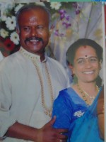 Nagesh kashyap with his wife