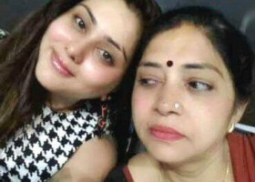 Namitha with Mother