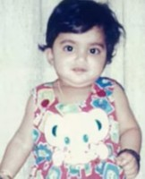 nayanthara childhood photo