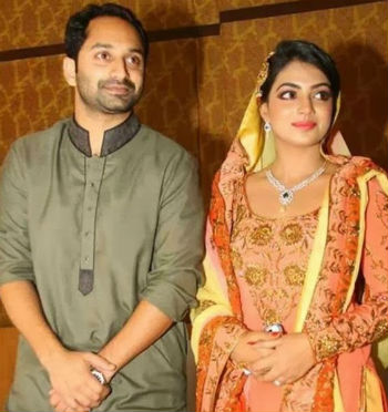 Nazriya Nazim's wedding to Fahadh Faasil