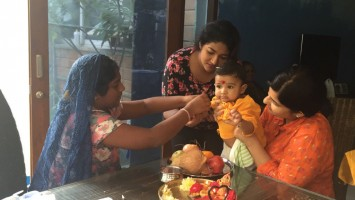 Prakash raj children- daughters meghana, pooja & son vedhanth