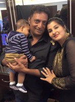 Prakash raj with wife pony verma & son vedhanth