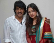 Priyanka upendra with her husband upendra