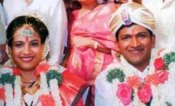 Puneeth rajkumar wedding with ashwini revanth
