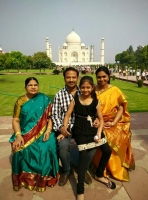R p patnaik family: mother, wife and daughter