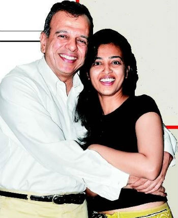 Radhika Apte with her father Charudutt Apte