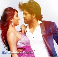 Radhika pandit with yash