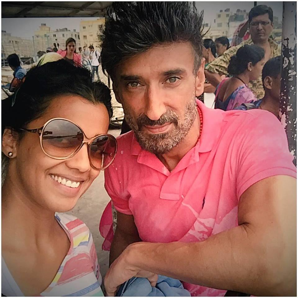 rahul dev with mugdha godse rahul dev rahul dev rahul
