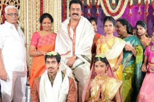 Raja ravindra's daughter vaagdevi's wedding