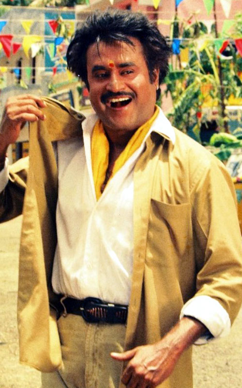rajinikanth in khaki as auto driver