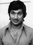 Rajkumar black and white