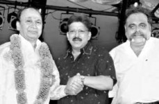 Rajkumar, vishnuvardhan and ambareesh