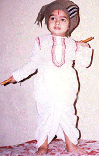 Ram Pothineni childhood photo
