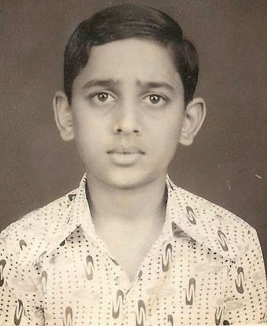 Ramesh Aravind childhood photo