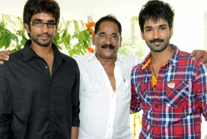 Ravi raja pinisetty with sons aadhi & sathya prabhas