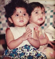 Samyukta hornad childhood photo