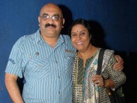 Sihi kahi chandru with wife Geetha