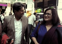 Sumalatha ambarish with her old friend kapil dev