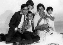 Sunil dutt and nargis family. sanjay dutt, namrata dutt and priya Dutt as kids.