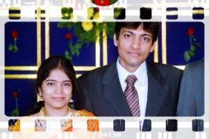 Usha wedding picture