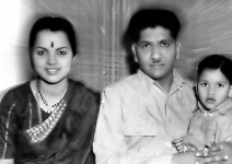 Vijayalakshmi singh's father shankar singh and mother pratima devi